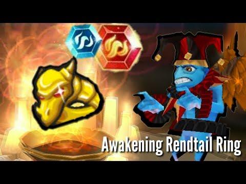Arcane Legends - Awakening Rendtail Ring [CRAZY LUCK]