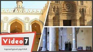 تعرف على الجامع الأقمر.. مسجد الحجارة البيضاء بشارع النحاسين