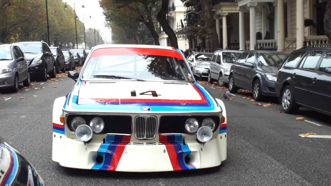 BMW 3.0 Csl >> BMW 3.0 CSL Group 2 racecar video roadtest - YouTube