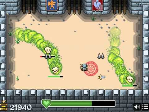 Forgotten Browser Games Worth Playing: Onslaught! Arena [Lost Decade Games]