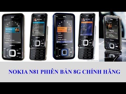 Điện thoại cổ Nokia N81 8G chính hãng tồn kho. Chỉ có tại http://365ngaymua.com
