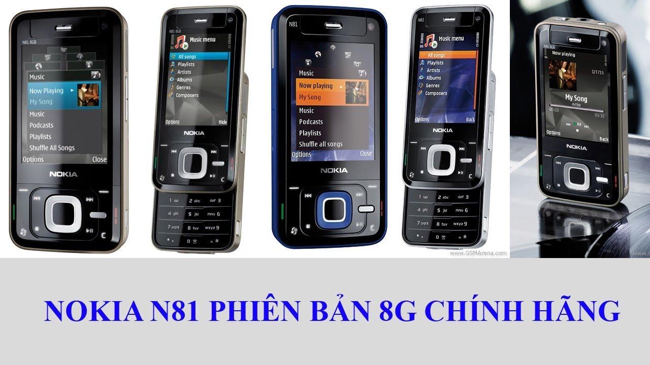 Điện thoại cổ Nokia N81 8G chính hãng tồn kho. Chỉ có tại http://365ngaymua .com