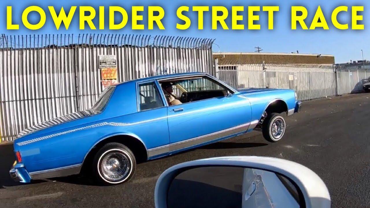 Lowrider Vs Dodge Challenger Rt Street Race