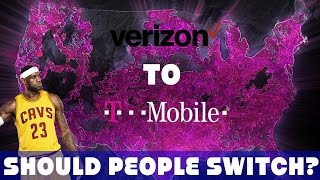 Should People Switch From Verizon To T-Mobile?