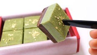 Easy Matcha Fresh Cream Chocolate