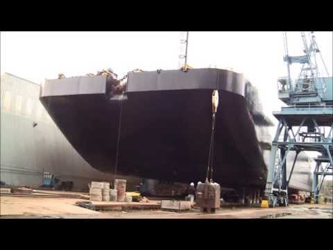 7,000,000 lb Double Hull Barge Time Lapse