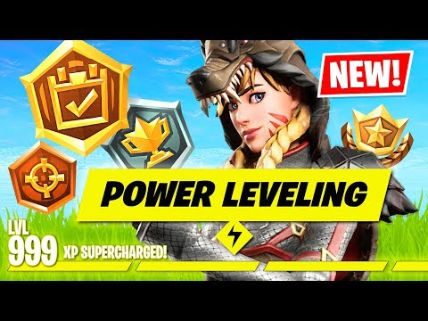 EASIEST way to LEVEL UP in Fortnite Chapter 2!! (Fortnite Battle Royale)