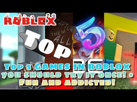 TOP 5 GAME NÊN CHƠI TRONG ROBLOX 2020 • CỰC HAY VÀ CỰC GHIỀN!
