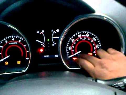 Luz De Mantenimiento De Toyota Higlander Youtube