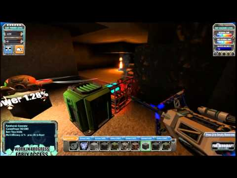 FortressCraft Evolved Season 3 Episode 7 Getting Tin Automated Part 1