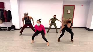 Shani Talmor Mambo Shines And Body Movement Class NYC 12/1/2020 NYC