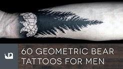 60 Geometric Bear Tattoos For Men