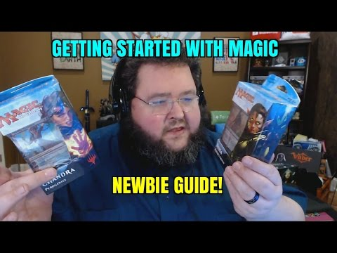Planeswalker Decks! Getting Started with Magic the Gathering