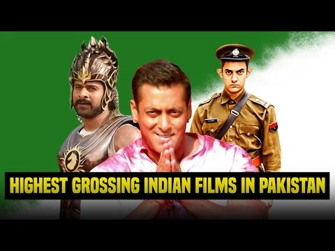 Top 10 highest grossing Indian films in Pakistan