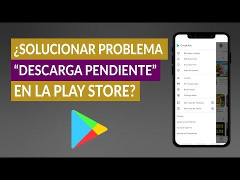 ¿Cómo Solucionar el Problema 'Descarga Pendiente' en la Play Store?