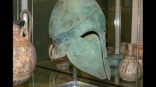 The British Museum Greek Hoplite Armor / Armour ( Red, Black figure Vases Sculpture)