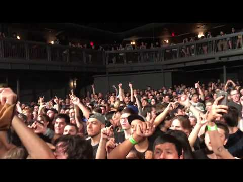The Amity Affliction - Full Set LIVE! @ Marquee Theatre (Tempe, AZ) September 29, 2017