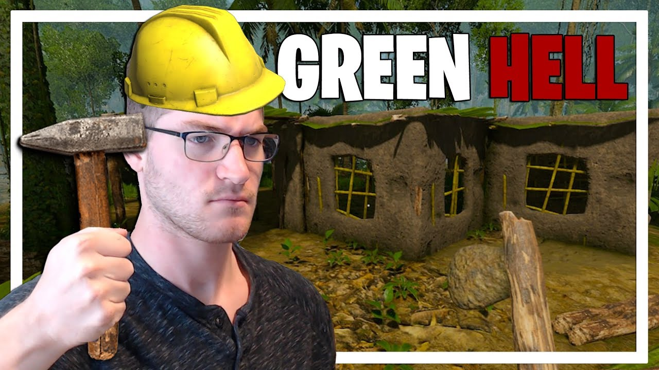 It's Time to Build! (Green Hell Gameplay Part 4)