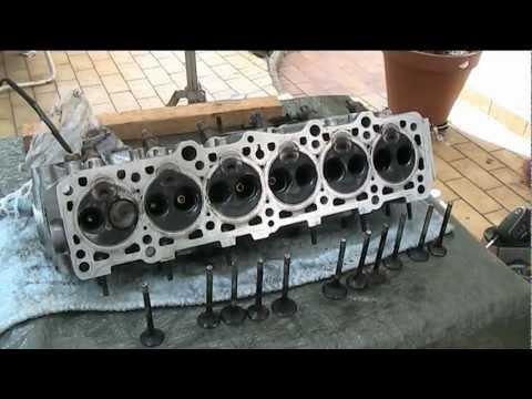 Volvo Engine head stripping