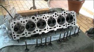 Volvo Engine head stripping