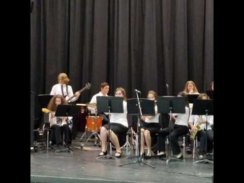 Park Place Middle School Jazz band Nov 2016