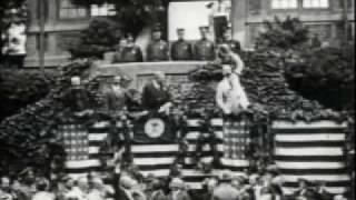 Teddy Roosevelt in Forest Hills, NY Station Square 1917