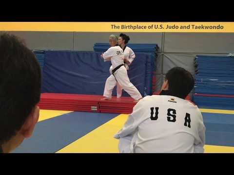 Taebak from the Kukkiwon International Master Course & Examiner