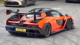 McLaren Senna BRUTAL SOUND - Accelerations and Loud Revs!