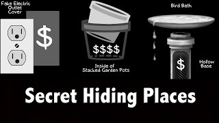 Stash Your Swag -100+ Secret Hiding Places For Under $50 (secret Stash) -life Hacks Tips