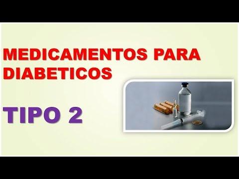 MEDICAMENTOS PARA DIABETICOS TIPO 2 - CUALES SON LOS