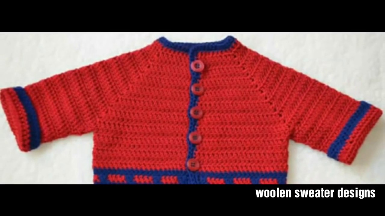 New sweater design for kids or baby in hindi | two colour knitting ...