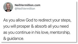 My Continual Love, Mentorship, And Guidance - Daily Prophetic Word