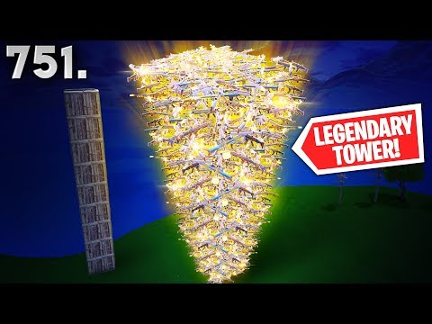 *NEW* LEGENDARY TOWER TRICK! - Fortnite Funny WTF Fails and Daily Best Moments Ep. 751