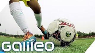Chinas Fußballinternat: Trainieren hier die Soccer-Profis von morgen? | Galileo Lunch Break