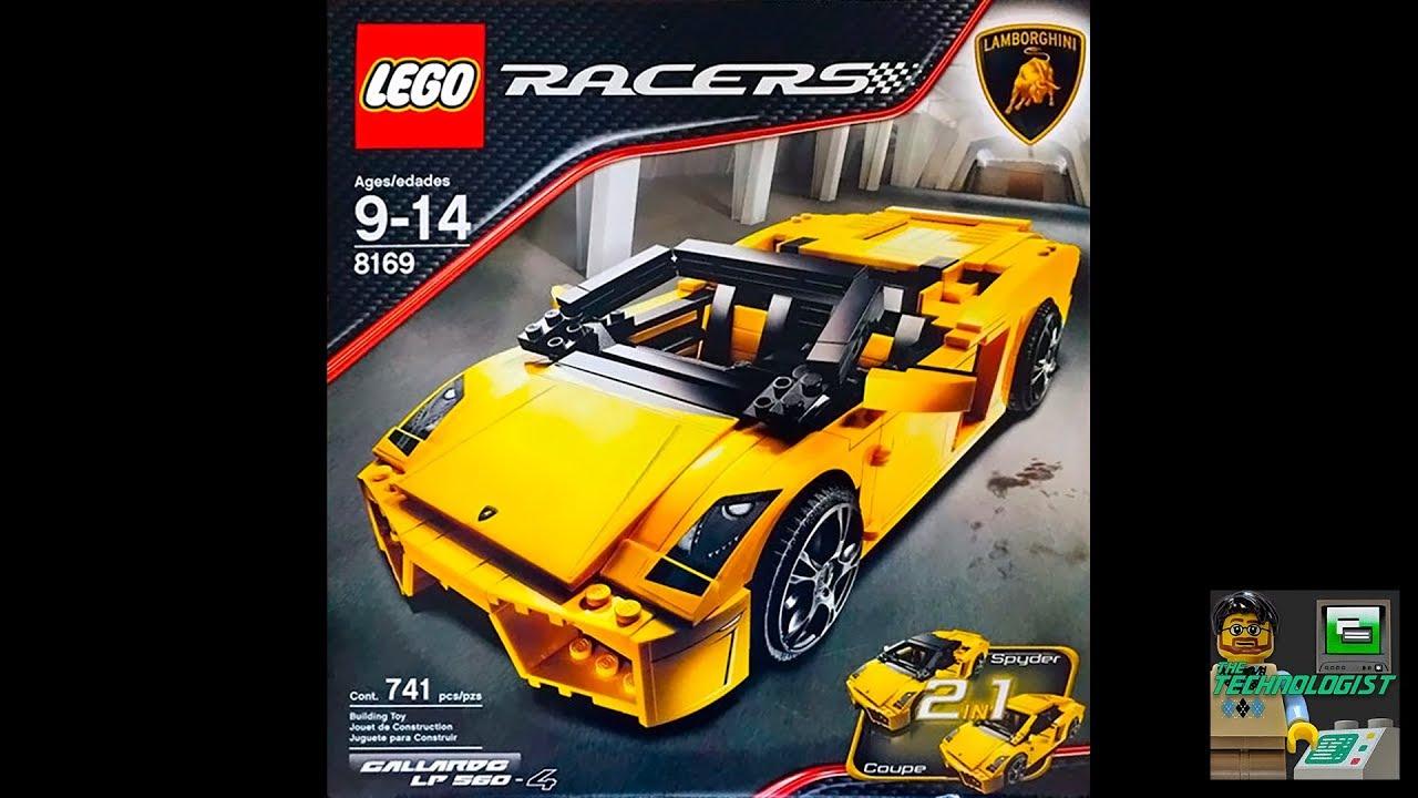 8169 Racers Gallardo 4 Lights Lp560 Plus Lego Build Custom Speed Lamborghini 8ZNO0XwnPk