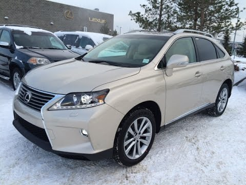 New Tan Cashmere On Parchment 2015 Lexus RX 350 AWD