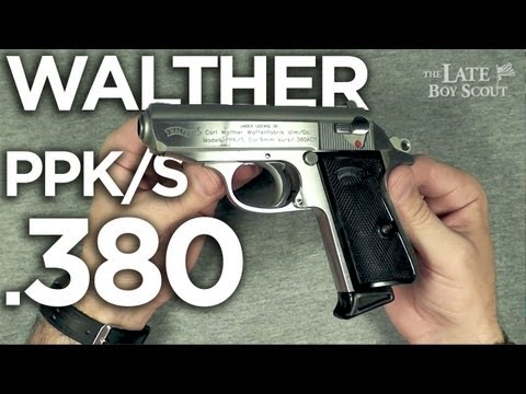 Walther PPK/S .380 Handgun Review: A Classic Eclipsed
