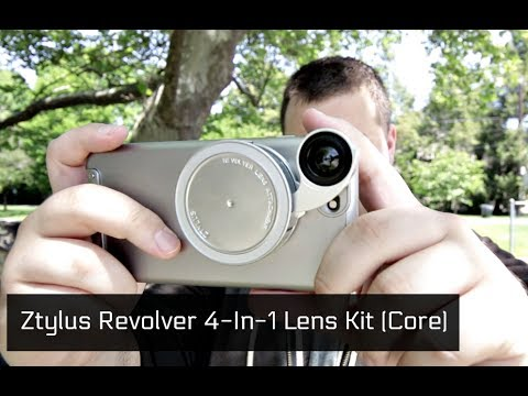 Ztylus Revolver Glass Lens 4-in-1 Camera Kit Review (Core Edition): Top Smartphone Lenses 2017