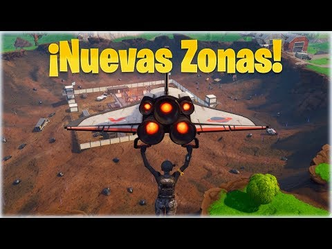 TODAS LAS NUEVAS ZONAS EN LA NUEVA TEMPORADA de Fortnite: Battle Royale - Withzack
