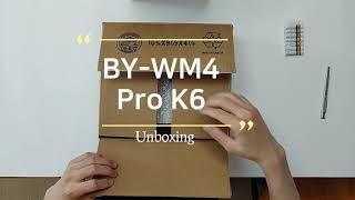 보야 무선 마이크 TEST(BY-WM4 Pro K6) …