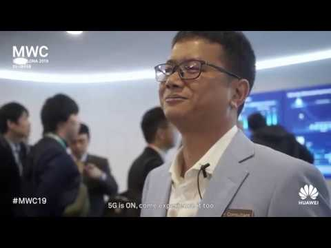 Huawei MWC19: The People Behind The Tech In 5G Core Networks