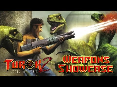Turok 2 Remastered For Nintendo Switch | Weapons Showcase