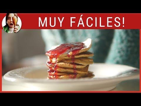 TORTITAS PARA EL DESAYUNO (PANCAKES) ¡Sin azúcar!