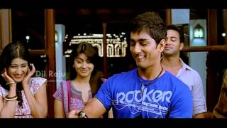 svsc dil raju oh my friend movie scenes siddharth wins the competition shruti hassan