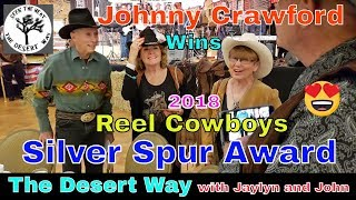 Johnny Crawford Wins Reel Cowboy