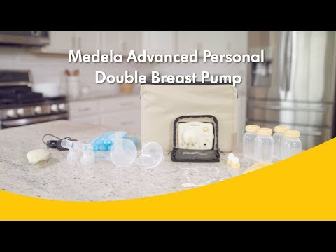 Medela Advanced Personal Double Breast Pump Youtube