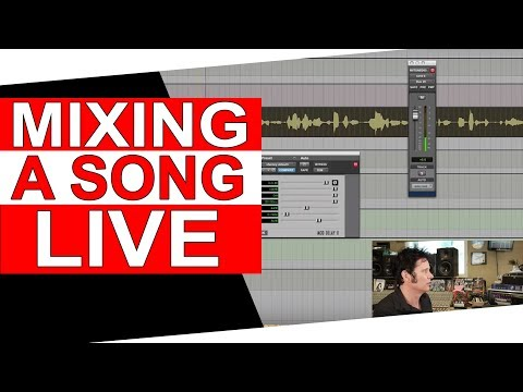 (Live) Mixing a song and Q&A - Warren Huart: Produce Like A Pro