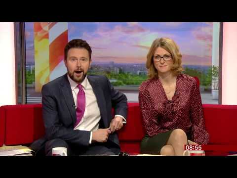 Confused and Wrong: BBC Breakfast presenters introduce wrong guest and news item