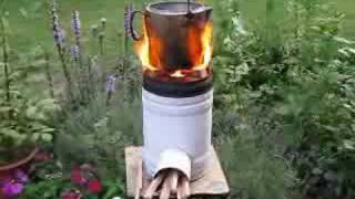Repeat youtube video Rocket Stove Demo