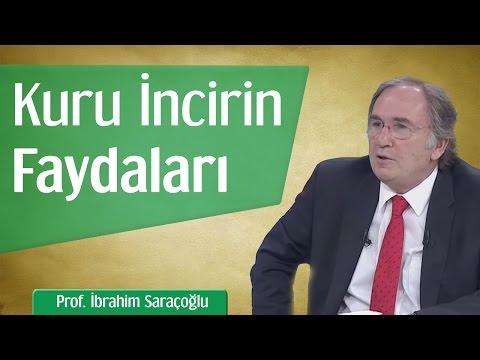 Kuru İncirin Faydaları | Prof. İbrahim Saraçoğlu
